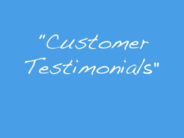 Testimonials for Wadys Electrical
