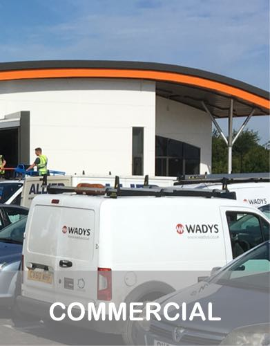 Recent electrical projects in the Commercial sector by Wadys Electrical in Bedford