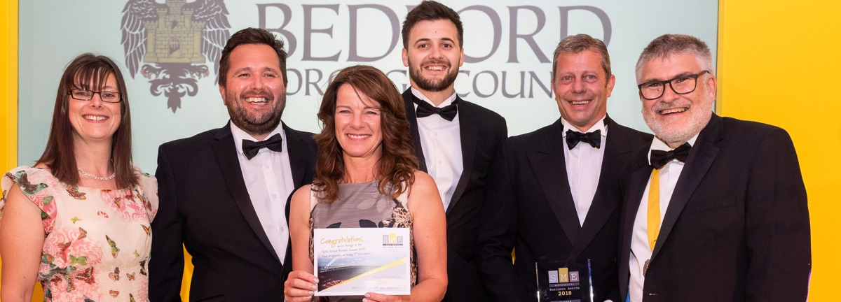 Wadys win SME Bedfordshire Business Awards