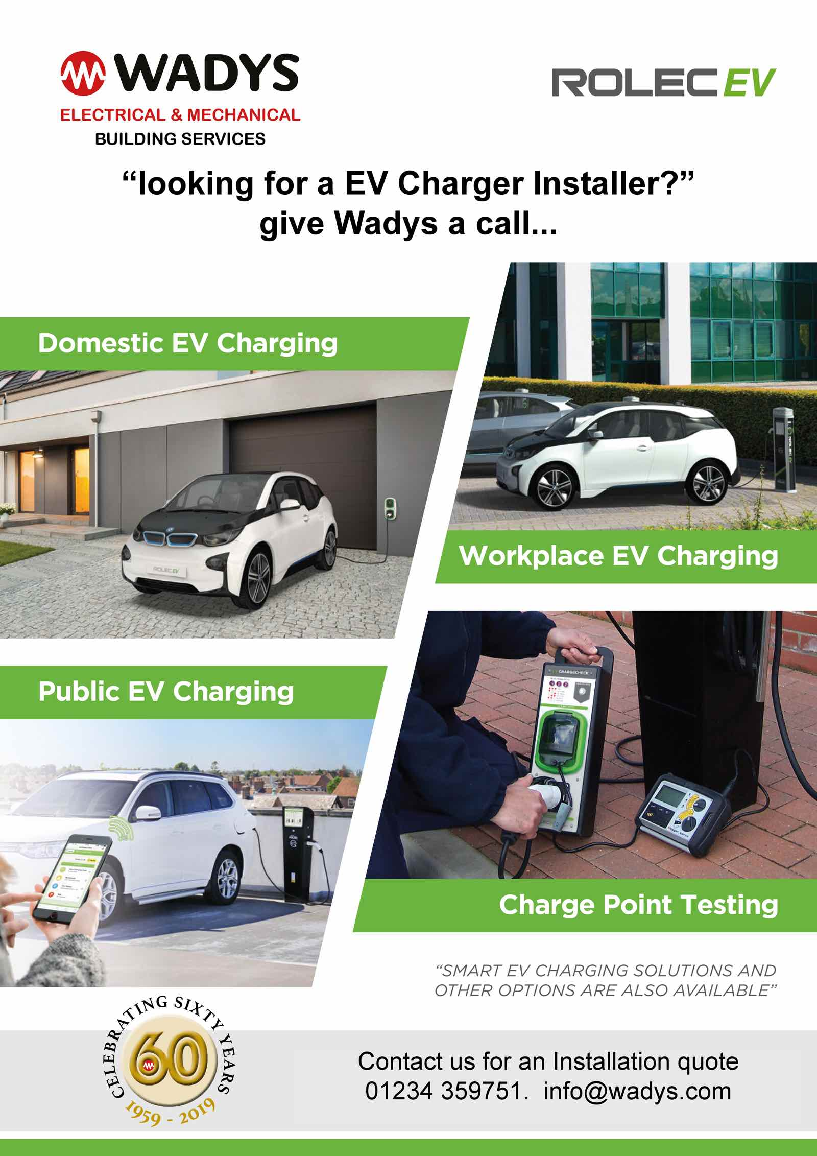 EV Car Charger Installation in Bedford